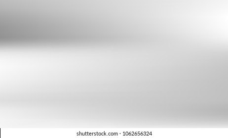 Gray white gradient silver backdrop. Pastel future element. Modern white gradient cover. Foil holographic design. Light soft gradient. Technology background. Simple grey metallic pattern. Monochrome.