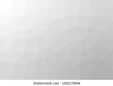 Gray White Polygonal Background.vector Illustration.