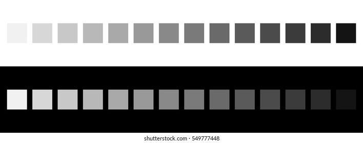 Grayscale colors on black and white. Monochrome palette
