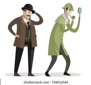 great detective and sidekick