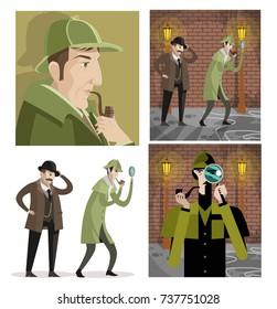 Imagenes Fotos De Stock Y Vectores Sobre Sherlock Holmes Drawing