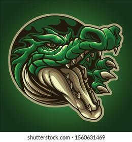 The great mascot of crocodile