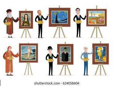 great painters painting art
