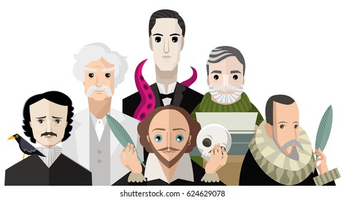 great six writers from all the times
