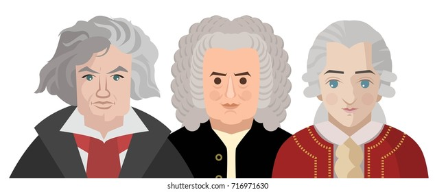 great three classical musician composers