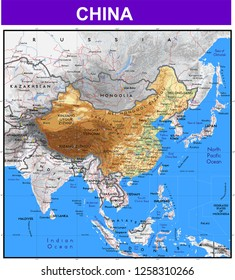 Great Wall Of China Map Images Stock Photos Vectors Shutterstock