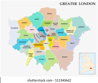 Areas In London Map.London Area Map Images Stock Photos Vectors Shutterstock