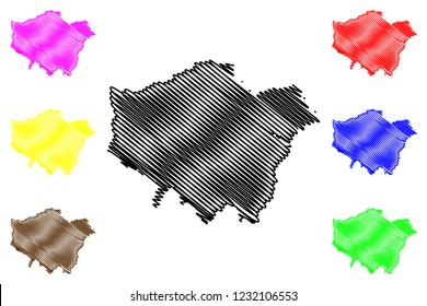 Map Of Greater London Area Uk.Map Greater London Images Stock Photos Vectors Shutterstock