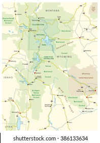 Greater Yellowstone Ecosystem map