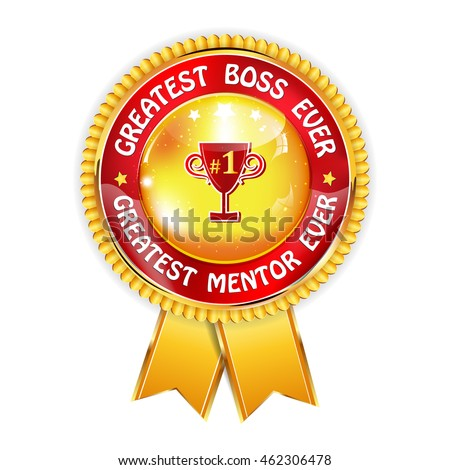 greatest boss ever greatest mentor ever stock vector royalty free