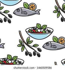 Seafood Wallpaper Gorseller Stok Fotograflar Ve Vektorler