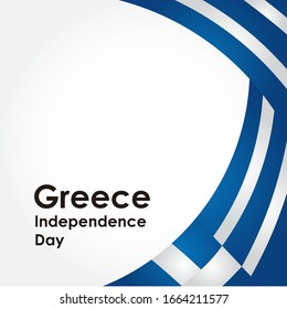 Greece Independence Day Vector Design