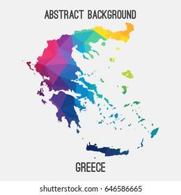 Greece Map Vector Images, Stock Photos & Vectors | Shutterstock