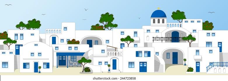 Greece, traditional houses