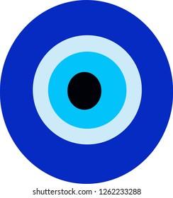 greek evil eye sign for your design or logo