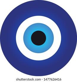 greek eyes icon. vector eps10