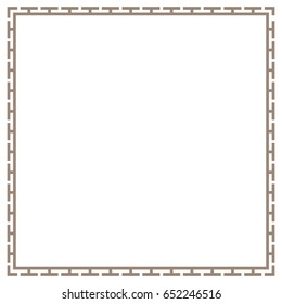 greek frame, border vector