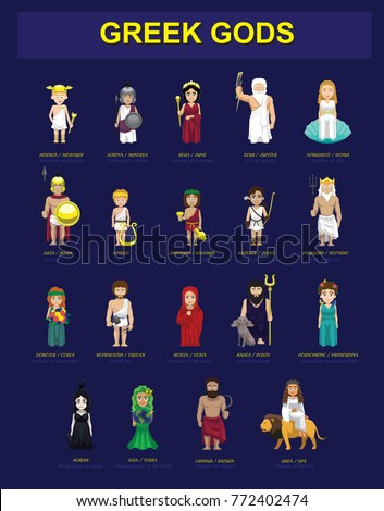 Greek Gods Costume Set