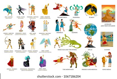 greek gods and mythology collection