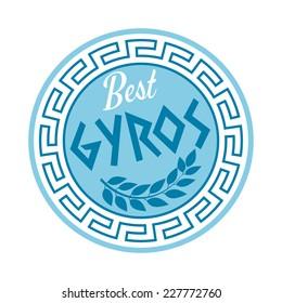 greek gyros sign