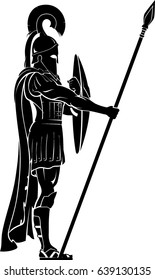 Greek Hoplite Guard