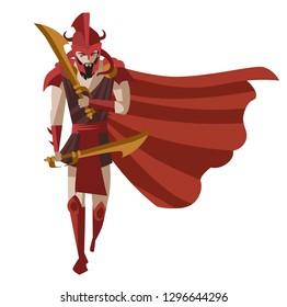 greek mythology warrior ares knight