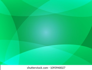 Green Abstact background, Light Green vector, Beautiful color Green sample in A4 size, Green vector pattern for posters.