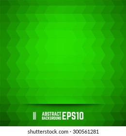 Green abstract rhombus background. Vector illustration.