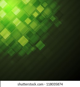 Green abstract technology design. Eps 10 vector background