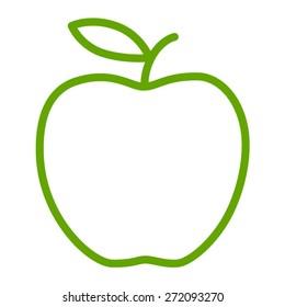 Apple Line Logo Images, Stock Photos & Vectors | Shutterstock