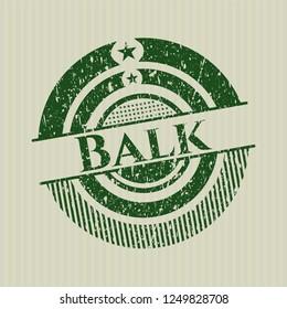 Green Balk distress rubber seal