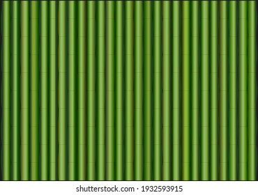 Green bamboo stick pattern background. Bamboo Symbolism vector illustrations.