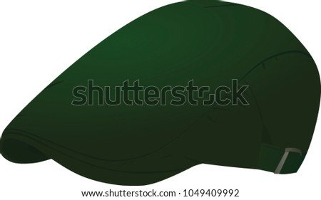 246887f72e Green Beret Hat Vector Illustration Stock Vector (Royalty Free ...