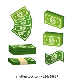 green bill dolar money