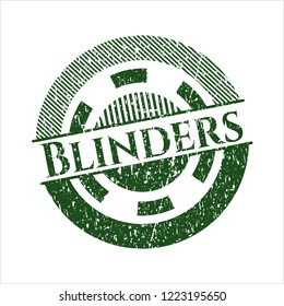 Green Blinders rubber seal