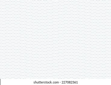 Green and Blue Certificate Guilloche Background Vector Illustration