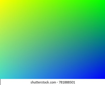 Green and blue colorful gradient mesh background in rainbow colors. Abstract blurred smooth image. Smooth blend banner template. Iridescent holographic wallpaper, texture. . Creative neon template.