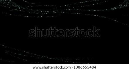 Green Blue Stars Sprocket Shiny Confetti Stock Vector (Royalty Free ... 673d56363