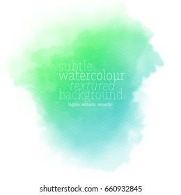 green blue watercolor