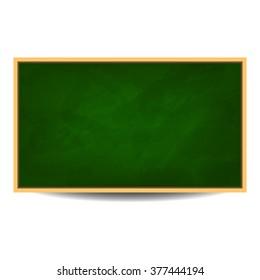 Green chalkboard background vector illustration eps 10