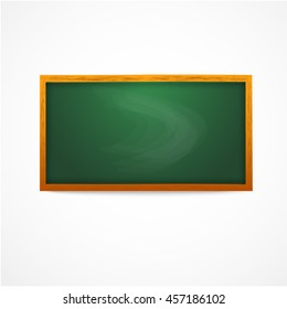 Green chalkboard.Vector