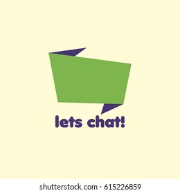 GREEN  CHAT ICON LOGO
