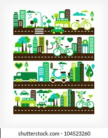 green city - environment and ecology