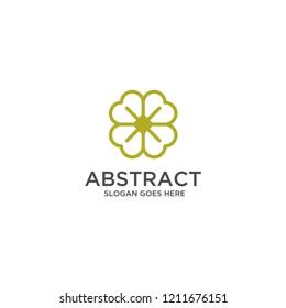 green clover logo design