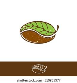 Design für grünes Kaffee und Tee