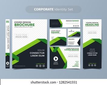 Green Corporate Identity Set