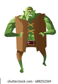 green cyclops ogre troll