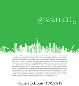 green earth- ecology concept