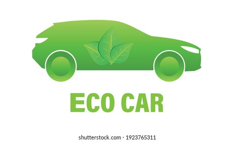 green eco car powered by biofuels