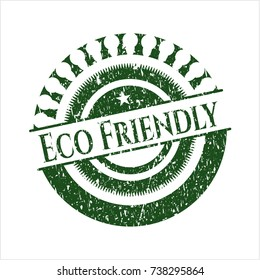 Green Eco Friendly rubber stamp